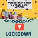 Manakah yang Lebih Baik? PSBB atau Lockdown?