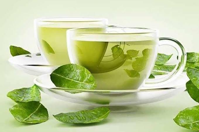 minum teh hijau untuk menghilangkan perut buncit secara alami