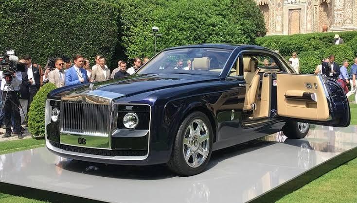 rolls royce sweptail termasuk mobil mewah termahal di dunia