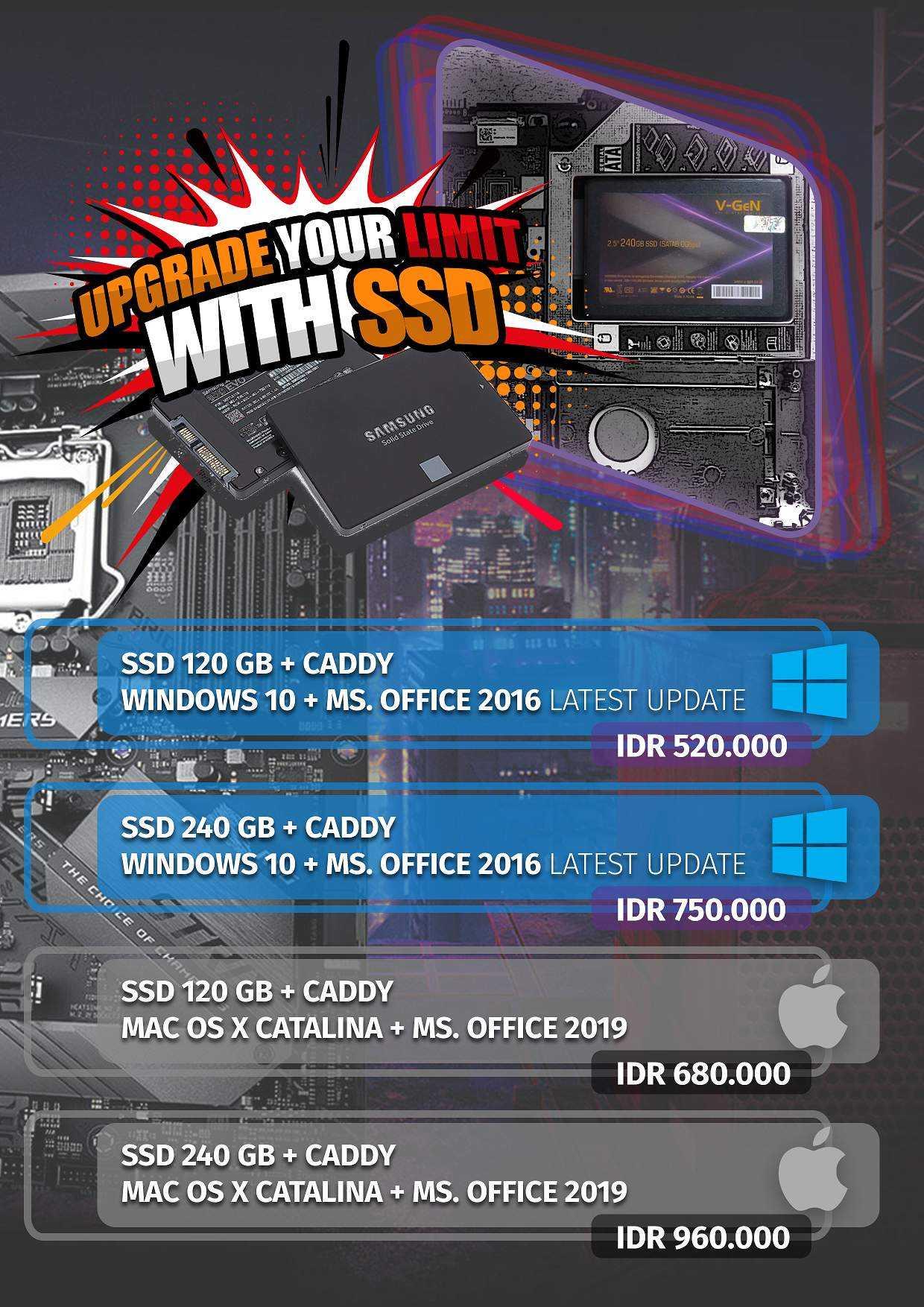 upgrade laptop ssd