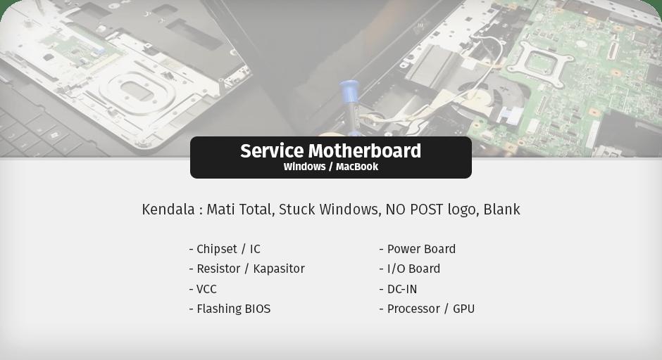 service motherboard ciputat